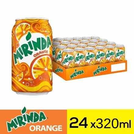 ميراندا مشروب غازي برتقال علب ٣٢٠مل