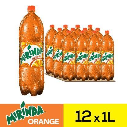 ميراندا مشروب غازي برتقال علب ١لتر