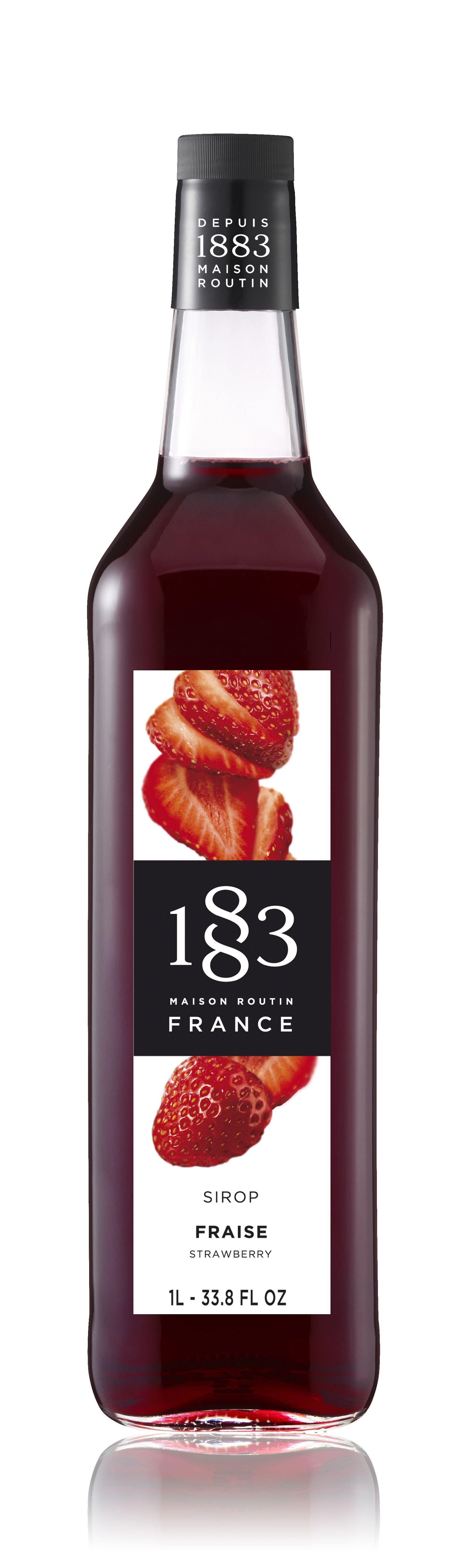 سيروب روتين 183 بنكهة الفراولة
