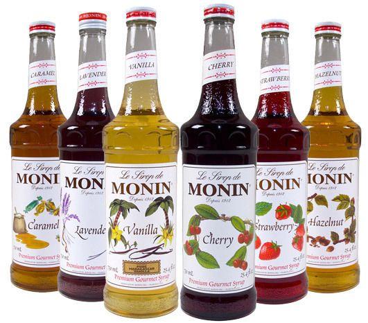 سيروب مونين للقهوة والعصير