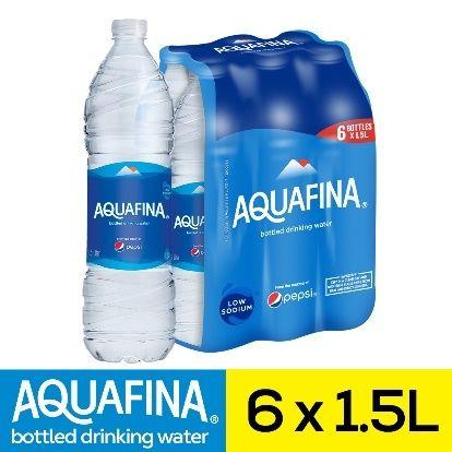 مياه اكوافينا ٦ قناني ١.٥ لتر