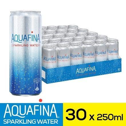 مياه اكوافينا الغازية ٣٠ قنينة ٢٥٠ مل