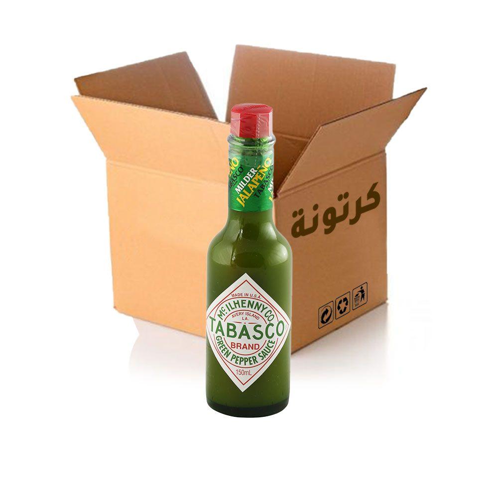 تباسكو فلفل اخضر ١٥٠ مل - ١٢ حبة
