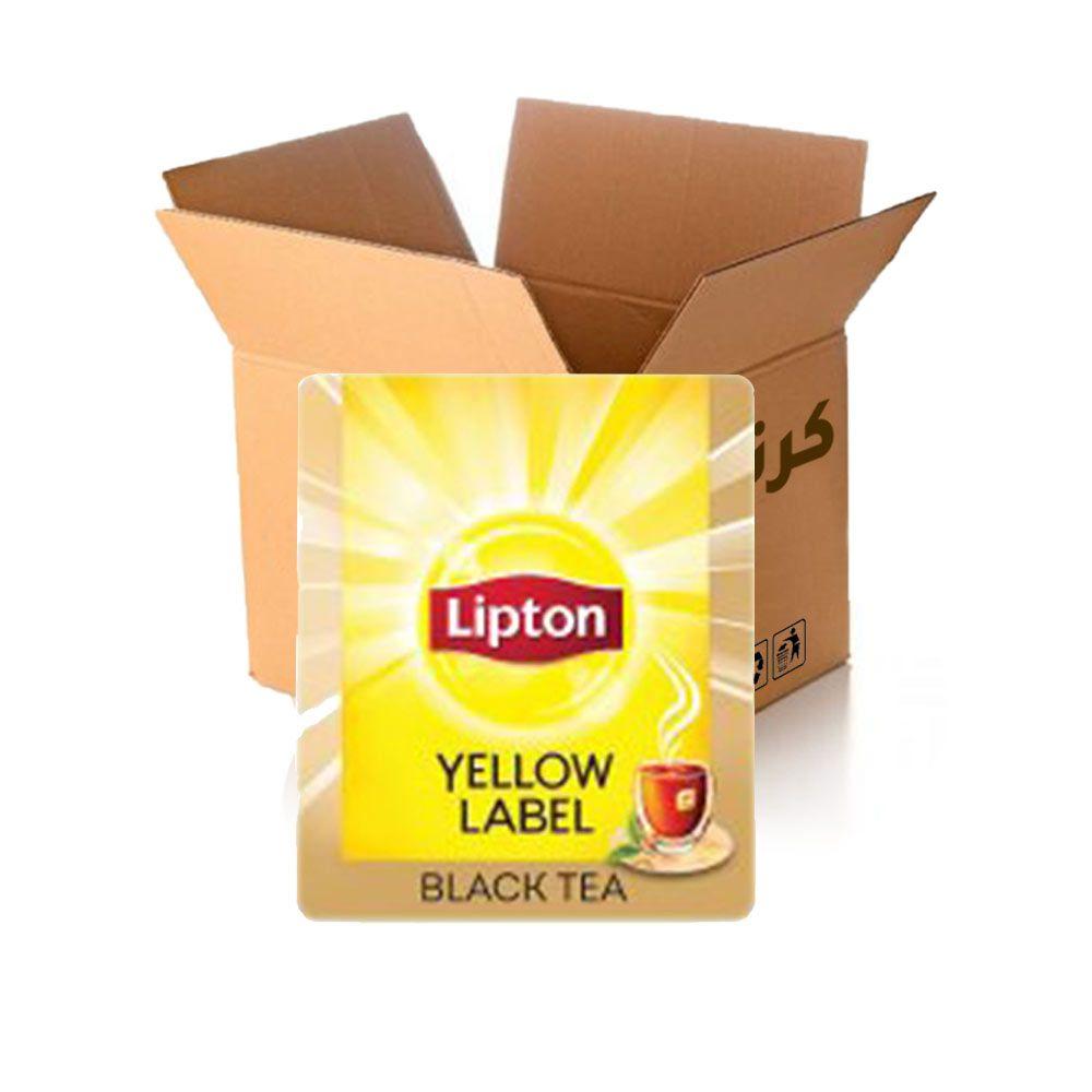 شاي أسود العلامة الصفراء 2 جم * 25 كيس * 24 باكيت