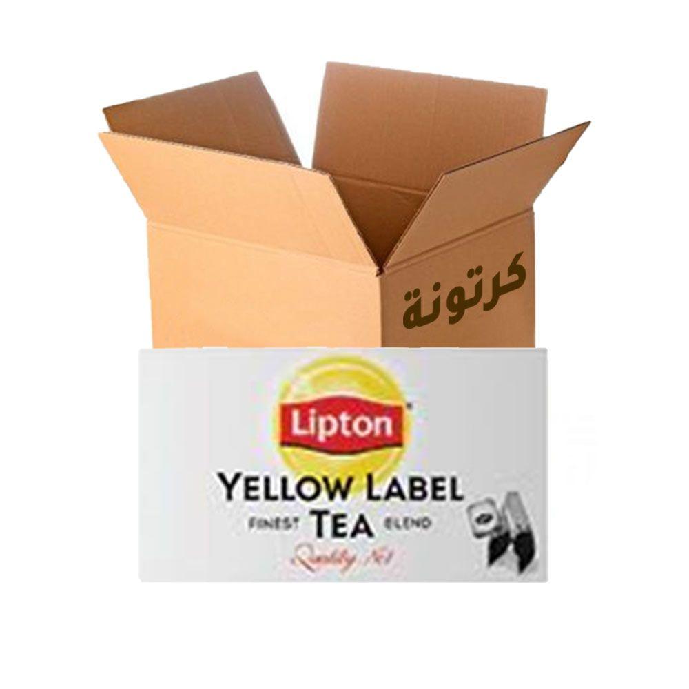 شاي أسود العلامة الصفراء (عبوة التموين) 2 جم * 100 كيس * 36 باكيت