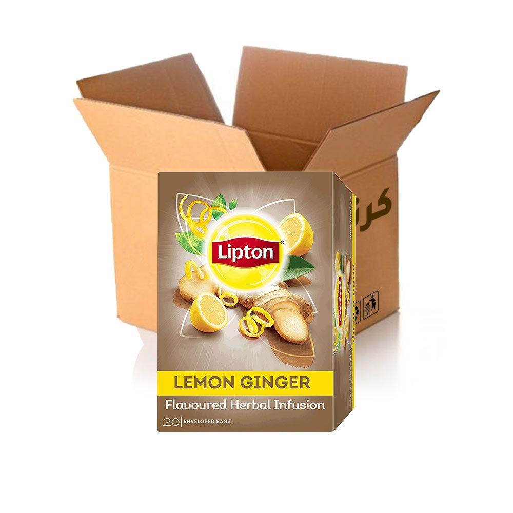 بنكهة الزنجبيل والليمون