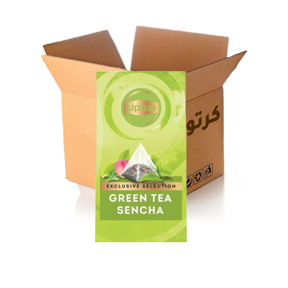 شاي أخضر بالسينشا