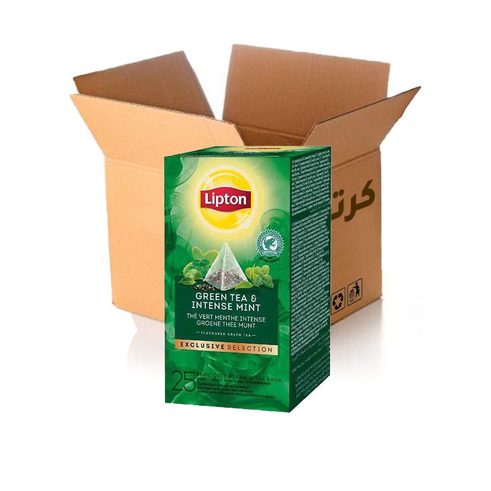 شاي اخضر بالنعناع المكثف