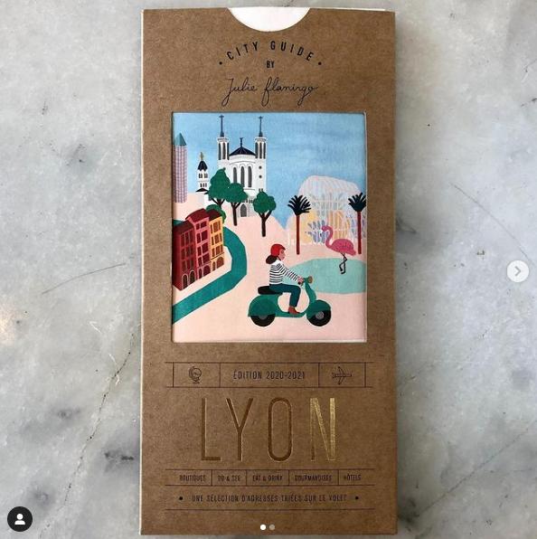 Le City Guide Lyon de Julie Flamingo