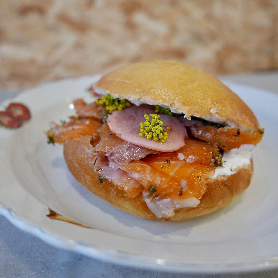 Restaurant ravigote - Sandwich saumon