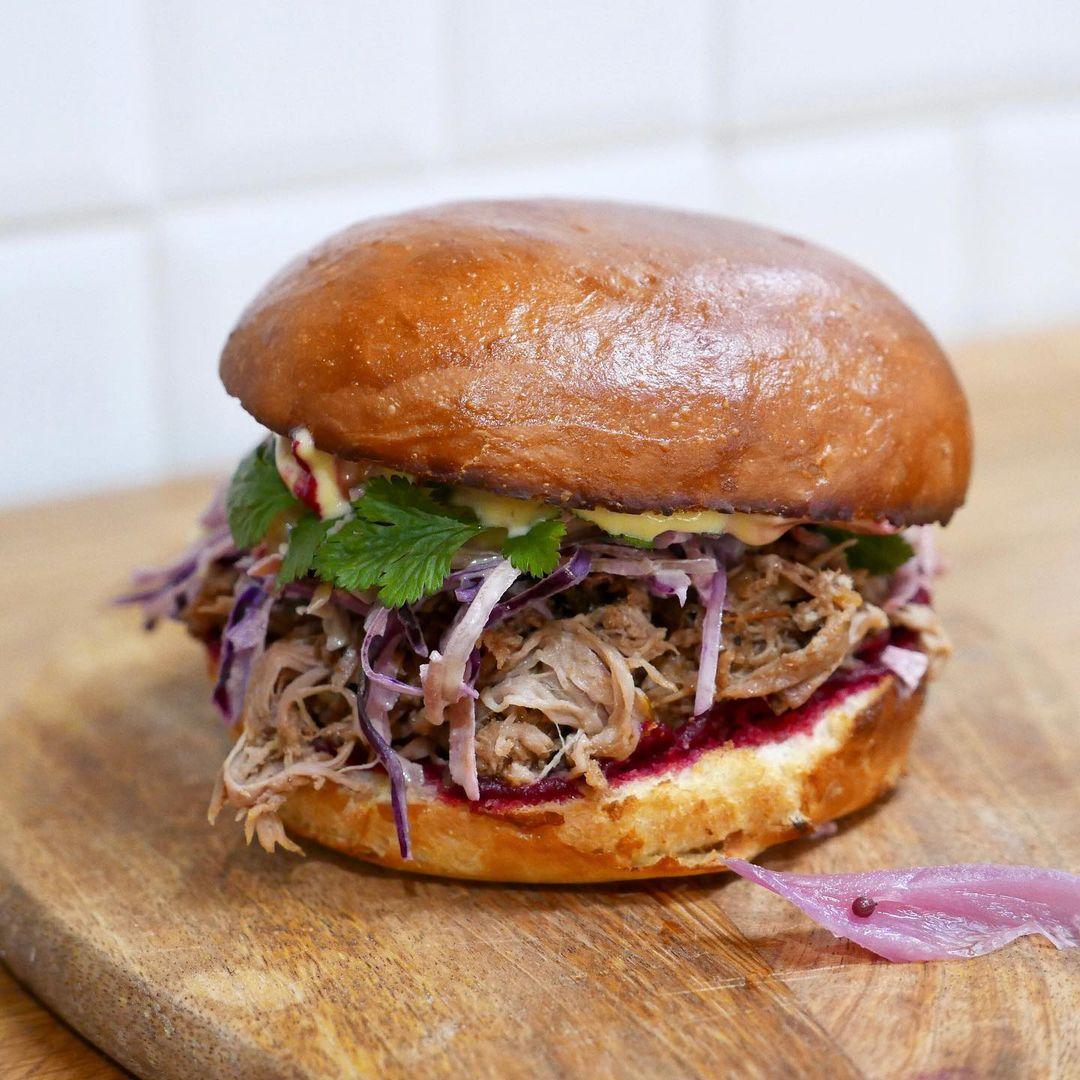 Restaurant ravigote - Sandwich pulled pork