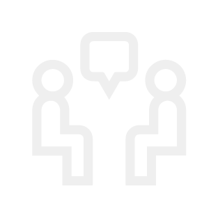 one on one consultation icon