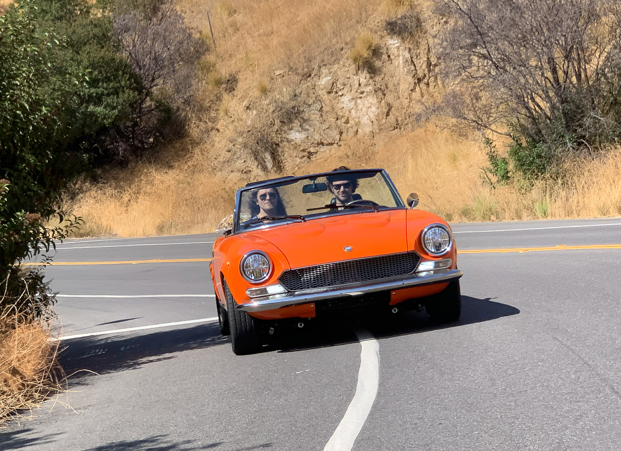 Electric GT's FIAT 124 Spider ©Electric GT
