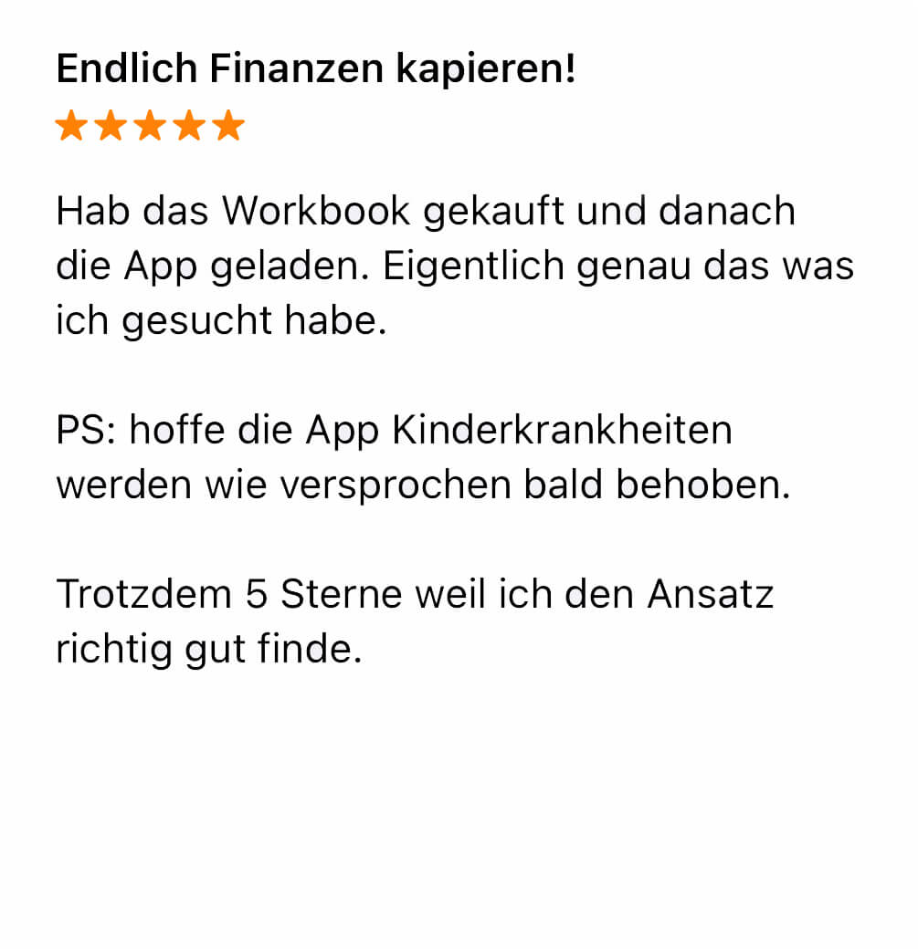 App Store Bewertung amplitude 3