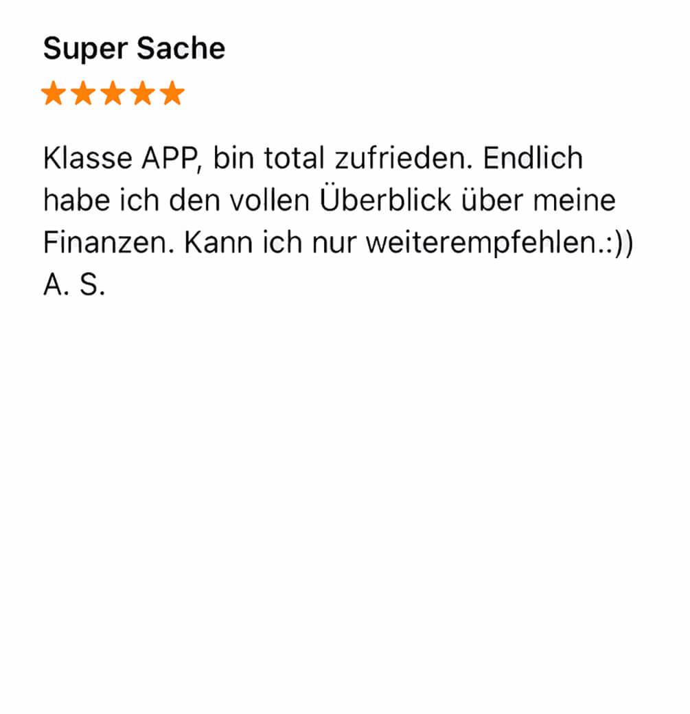 App Store Bewertung amplitude 4