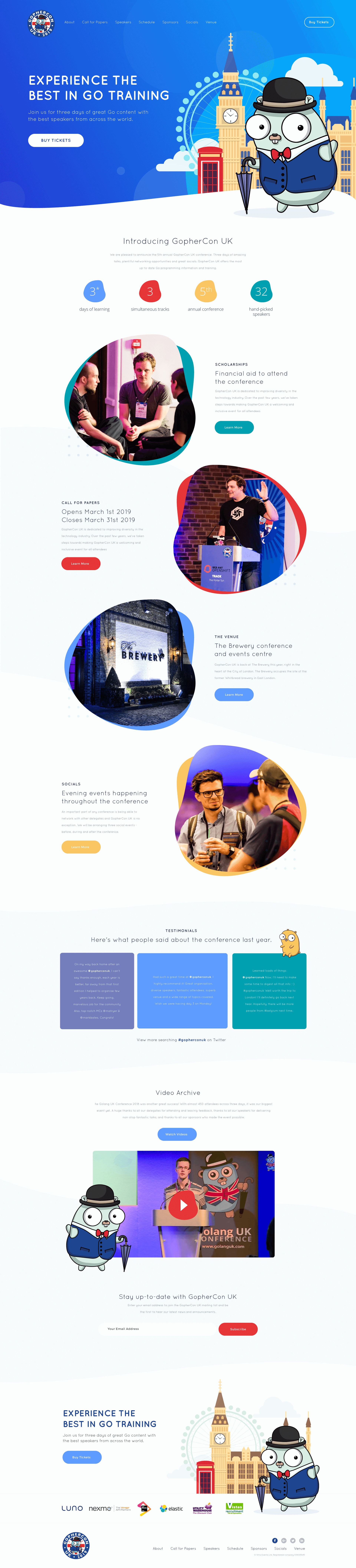 Web Design for Gophercon