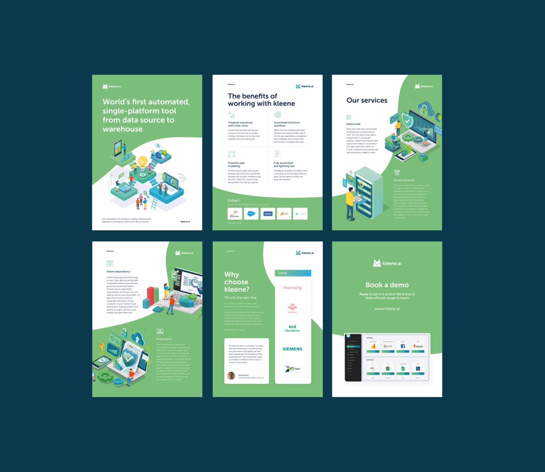 Brand Development & Web Design For Kleene