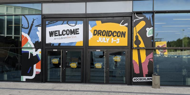 Brand Development For Droidcon Berlin