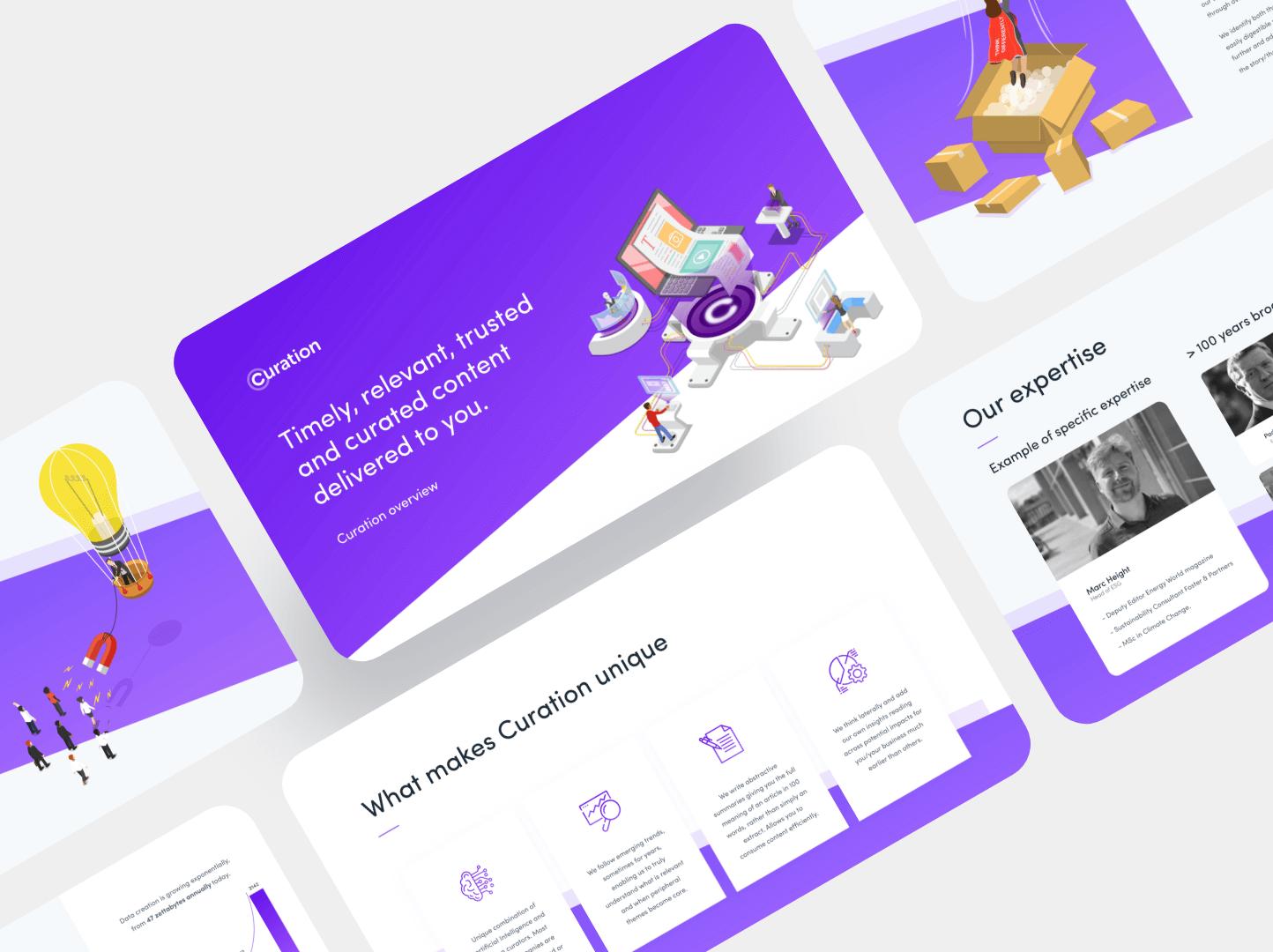 Brand Development & Web Design For Curation