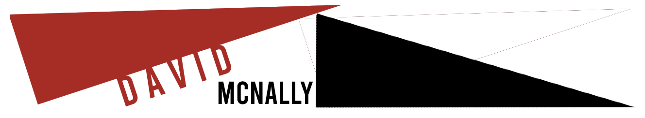 David McNally-website logo of oblique triangles
