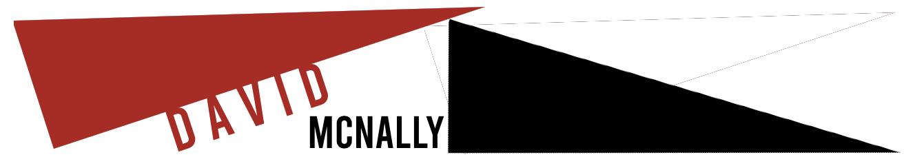 David McNally-website logo of oblique triangles