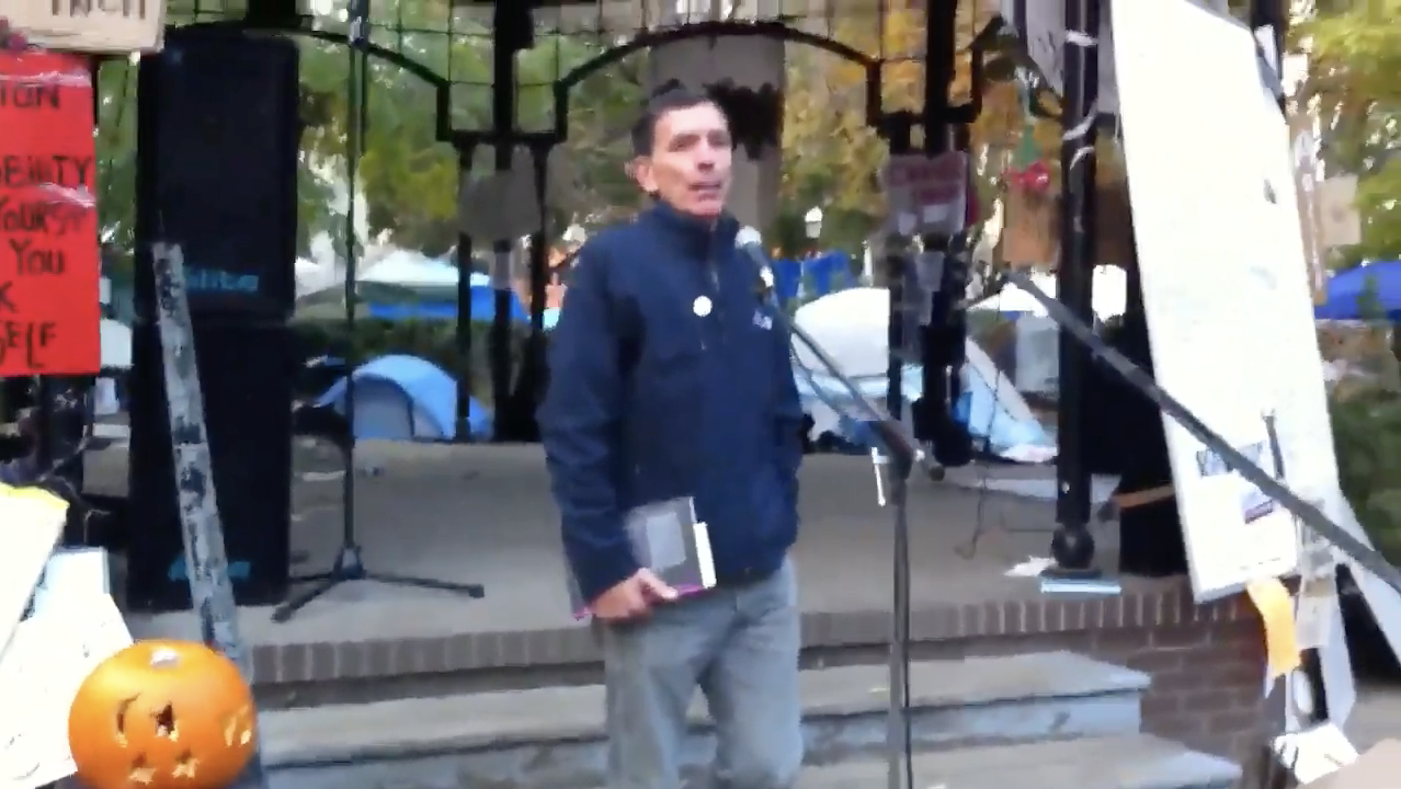 David McNally lectures on Zombies and Global Capitalism at Occupy Toronto