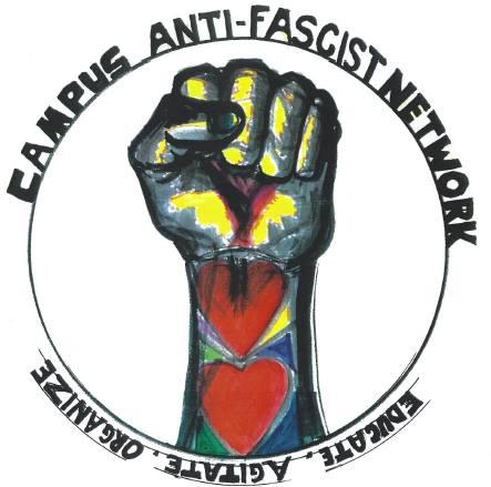Logo for Campus Anti-Fascist Network