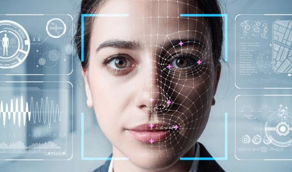 Imagen de autenticación biométrica.