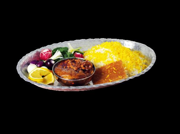 Split Pea Stew with Eggplant (Gheymeh Bademjan)