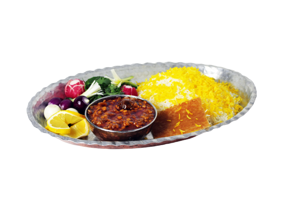 Split Pea Stew (Gheymeh)