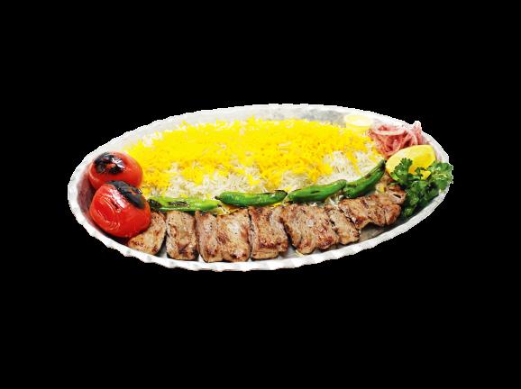 Veal Tenderloin Kebab (Barg)