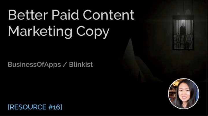 Better Paid Content Marketing Copy