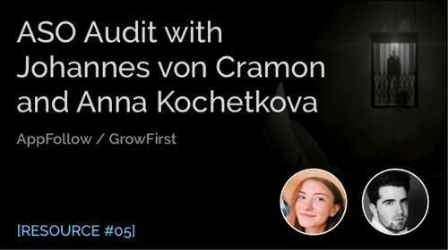 ASO Audit with Johannes Von Cramon and Anna Kochetkova