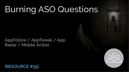 Burning ASO Questions with ASO Tools