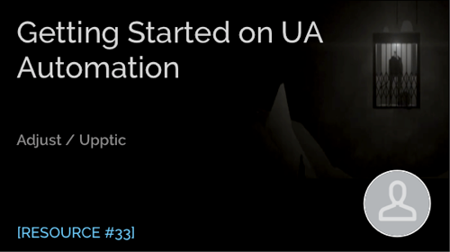 Getting Started on UA Automation