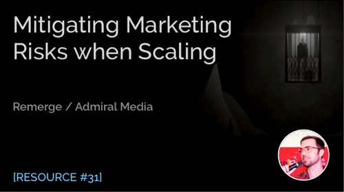 Mitigating Marketing Risks When Scaling