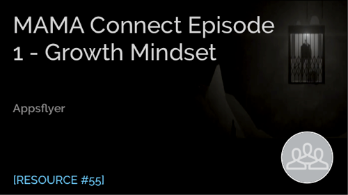 Mama Connect Episode 1 - Growth Mindset