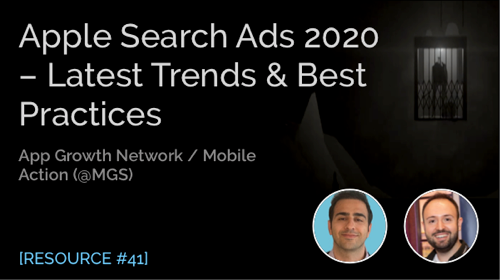 Apple Search Ads 2020 – Latest Trends & Best Practices