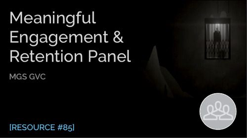 Meaningful Engagement & Retention Panel