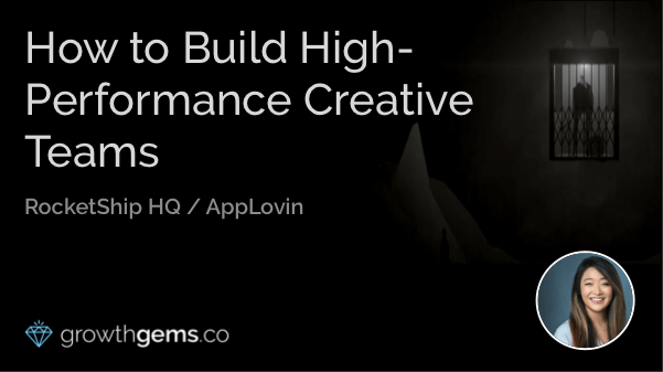How to Build High-performance Creative Teams