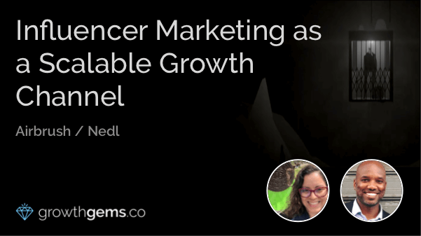 Influencer Marketing as a Scalable Growth Channel