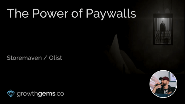 The Power of Paywalls