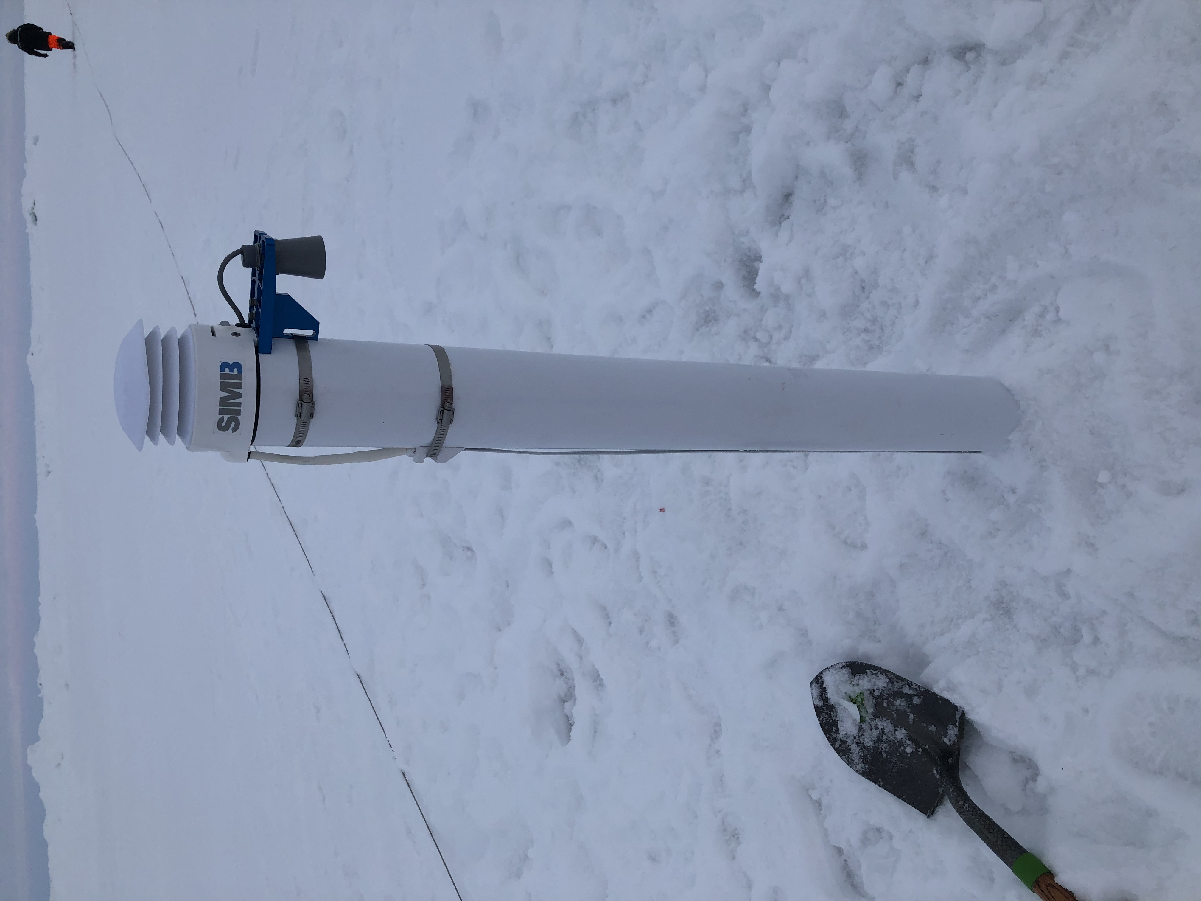SIMB3 deployed in ice  on MOSAiC