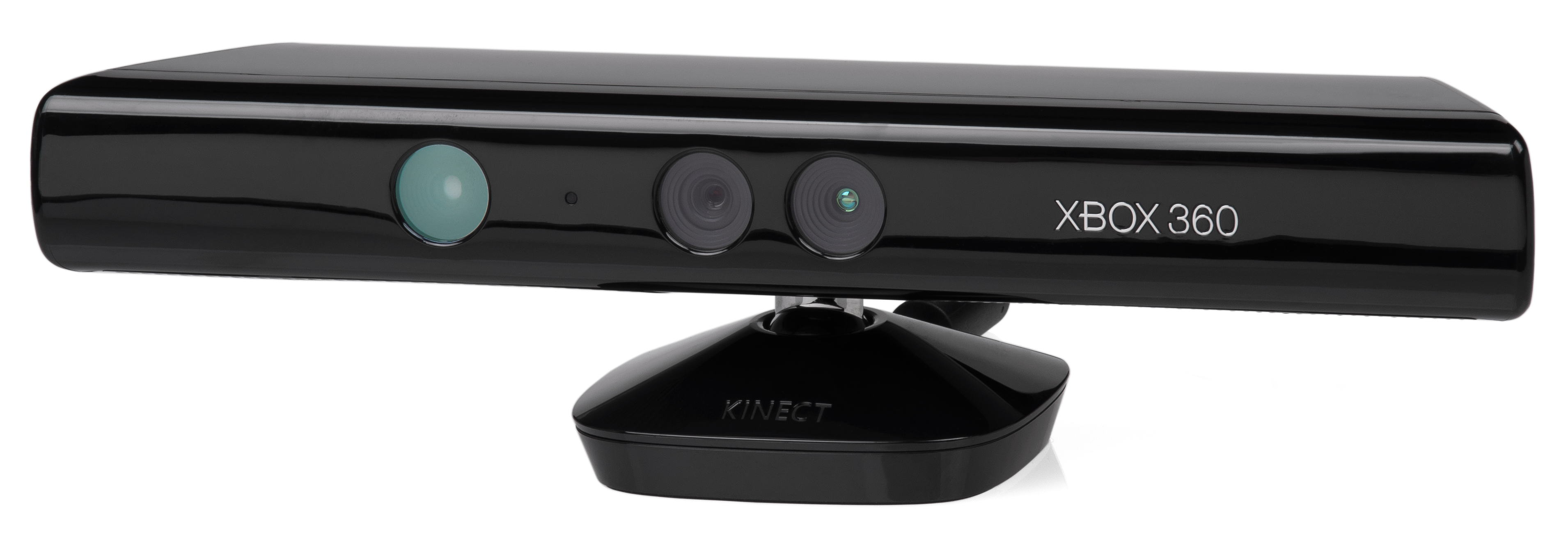 Microsoft Kinect for Xbox 360. By Evan Amos