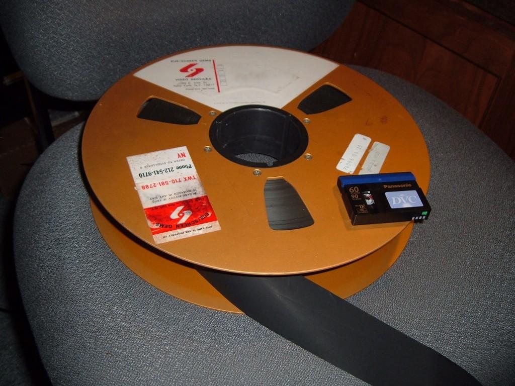 2-inch video tape reel