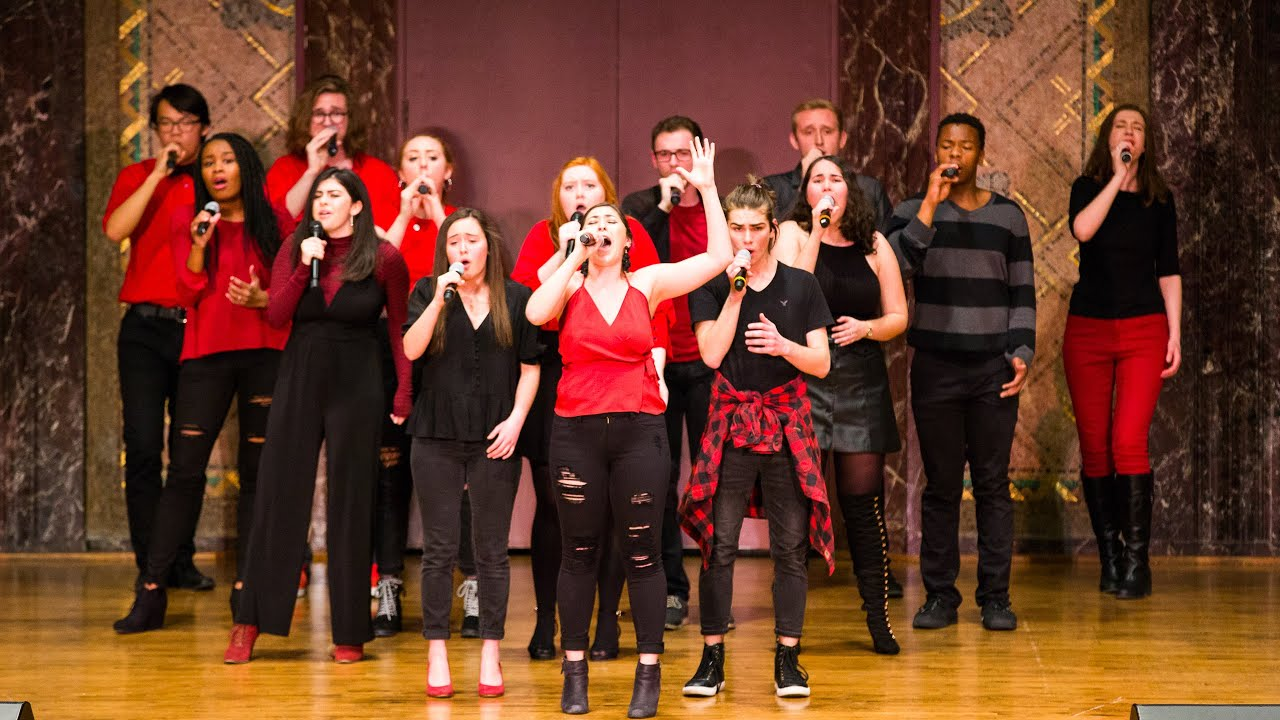 Photo of the Amateurs performing at ICCA in 2019