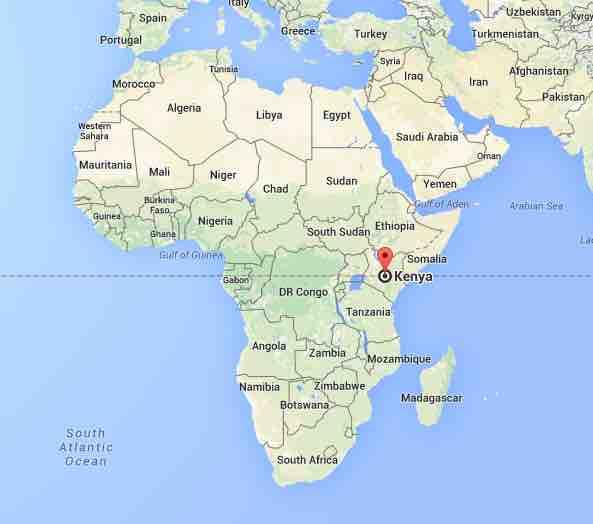 Kenya Google Maps
