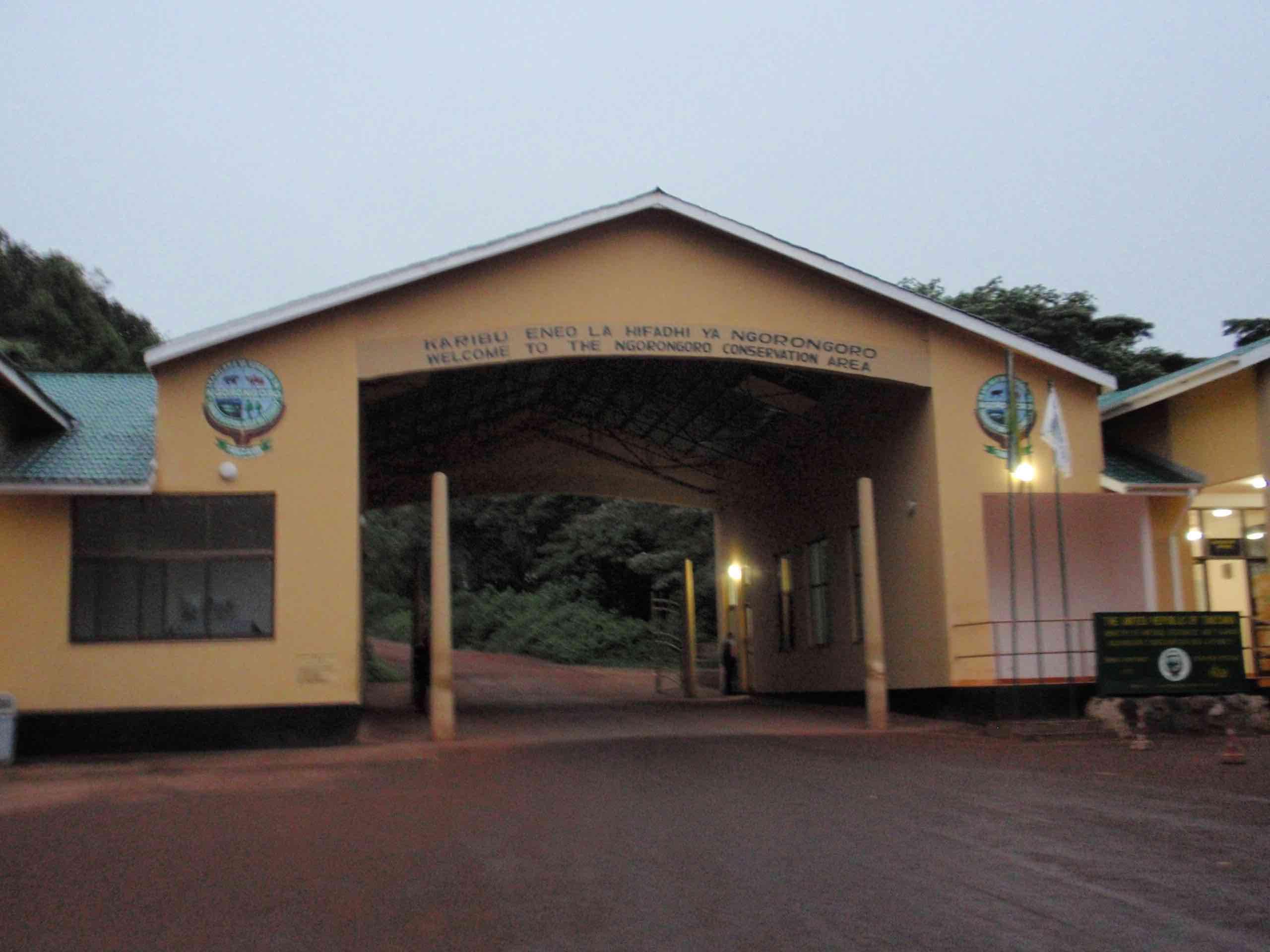 Ngoro Crater Entrance