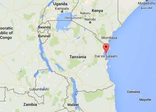 Zanzibar Tanzania Google Maps