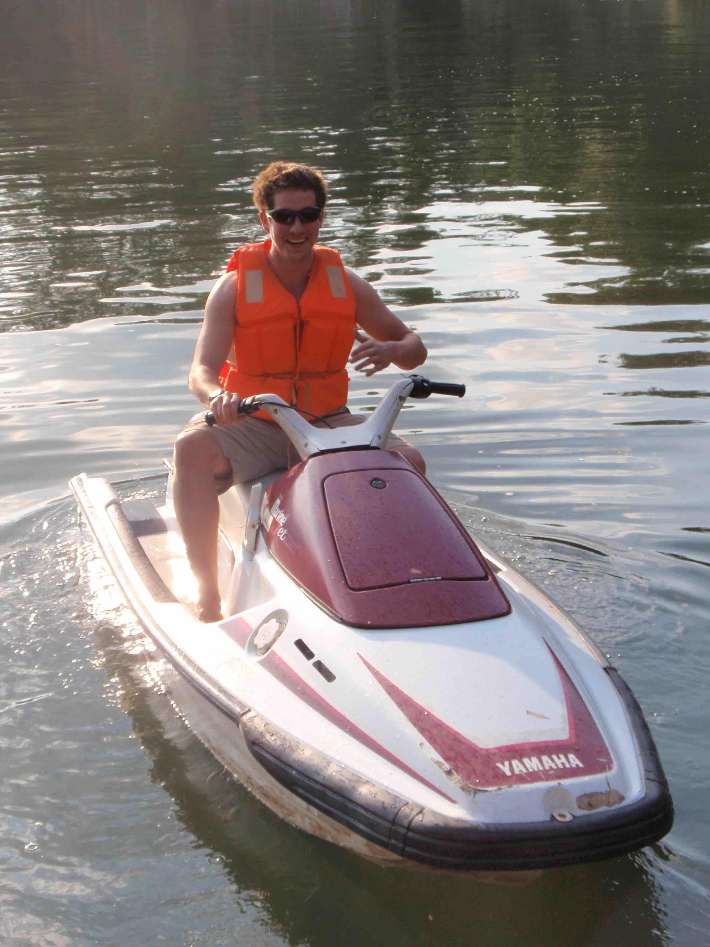 Bryan Jet Ski Lake Bunyonyi Uganda